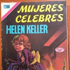 Tebeos: MUJERES CELEBRES, Nº 120. NOVARO, 1971 - HELEN KELLER. Lote 295964958