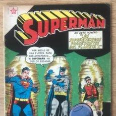 Tebeos: SUPERMAN 183 BATMAN Y ROBIN 1959 EDICIONES RECREATIVAS NOVARO. Lote 296624078