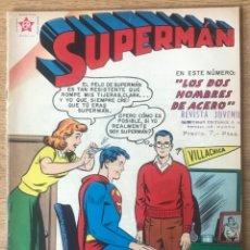 Tebeos: SUPERMAN 176 PELUQUERÍA PELUQUERA PELO PEINE PELUQUERO 1959 EDICIONES RECREATIVAS NOVARO. Lote 296624723