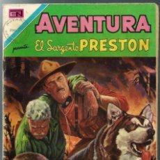 Tebeos: AVENTURA Nº 705 - EL SARGENTO PRESTON - NOVARO 1971. Lote 296705568