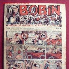 Tebeos: BOBIN (GATO NEGRO) ............ ¡¡ EL Nº 1 !!. Lote 26660528