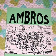 Tebeos: AMBROS. RELATOS CORTOS Nº 1. EL BOLETIN. INTRODUCCION SALVADOR VAZQUEZ DE PARGA. MEDIEVAL, WESTERN.. Lote 25762933