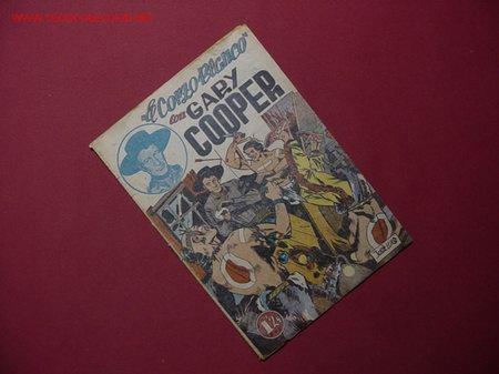 GARY COOPER (JOVI - 1950 ) ...¡¡ Nº 1 !! (Tebeos y Cómics - Números 1)