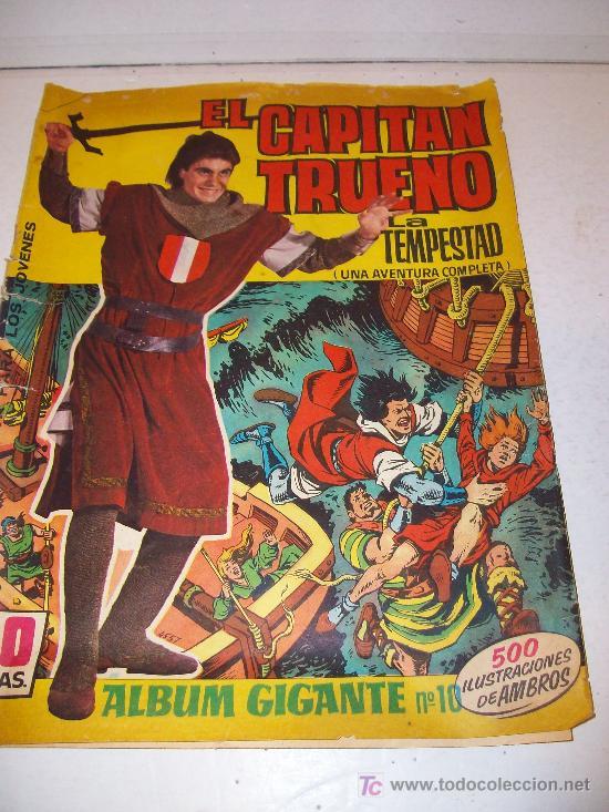 EDITORIAL BRUGUERA: ALBUM GIGANTE CAPITAN TRUENO, Nº 10 (Tebeos y Cómics - Números 1)