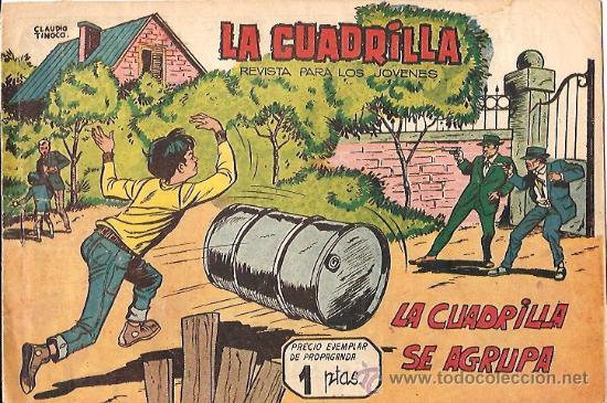 LA CUADRILLA Nº 1 EDITORIAL MAGA ORIGINAL (Tebeos y Cómics - Números 1)
