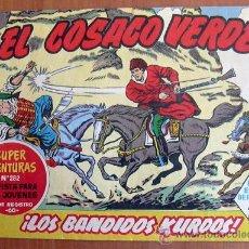Tebeos: EL COSACO VERDE Nº 1 - EDITORIAL BRUGUERA 1960. Lote 18413094