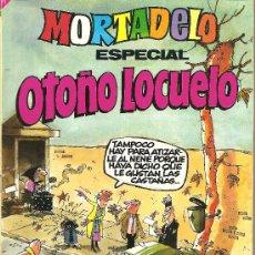 Tebeos: MORTADELO ESPECIAL OTOÑO LOCUELO Nº 144. Lote 25919781
