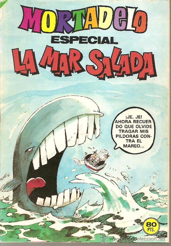 MORTADELO ESPECIAL LA MAR SALADA Nº 101 (Tebeos y Cómics - Números 1)