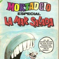 Tebeos: MORTADELO ESPECIAL LA MAR SALADA Nº 101. Lote 27004740