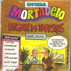Tebeos: MORTADELO ESPECIAL LLEGAN LOS TURISTAS Nº 180. Lote 26241932