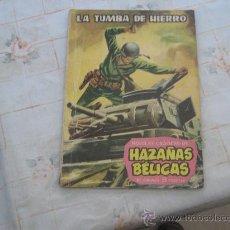 Tebeos: HAZAÑAS BELICAS Nº 1,NOVELA GRAFICA. Lote 21798691