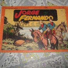 Tebeos: JORGE Y FERNANDO ALBUM ROJO Nº 1.. Lote 27039258