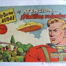 Tebeos: FREDY BARTON EL AUDAZ , NUMERO 1 , 1960 ORIGINAL , EDITORIAL VALENCIANA , MUY BUENA CONSERVACION. Lote 22849588