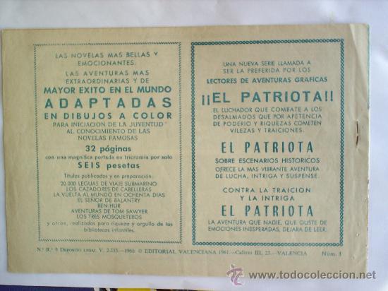 Tebeos: FREDY BARTON EL AUDAZ , NUMERO 1 , 1960 ORIGINAL , EDITORIAL VALENCIANA , MUY BUENA CONSERVACION - Foto 2 - 22849588