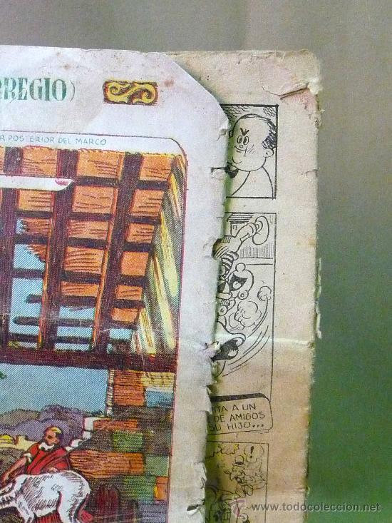 Tebeos: COMIC, ALMANAQUE DEL 1949, PEQUEÑO LUCHADOR, Nº 17, EDITORIAL VALENCIANA, TAPAS SUELTAS - Foto 3 - 22946579