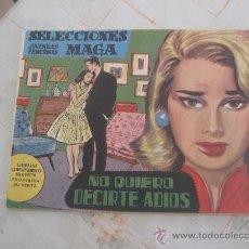 Tebeos: SELECCIONES JUVENILES FEMENINAS MAGA Nº 1. Lote 23204740