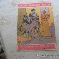 Tebeos: HEROES BIBLICOS Nº 1.. Lote 23537936