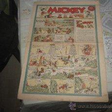 Tebeos: MICKEY Nº 1, MOLINO AÑO 1935, TAMAÑO GRANDE.. Lote 24238728