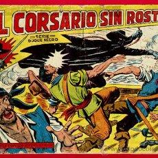 Tebeos: EL CORSARIO SIN ROSTRO , SERIE DUQUE NEGRO , Nº 1 , EDITORIAL MAGA , ORIGINAL , C3. Lote 27235434