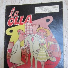 Tebeos: LA 0LA , NUMERO 1 EDITORIAL CLIPER 1958. Lote 27902655