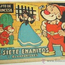 Tebeos: AVENTURAS DE LOS SIETE ENANITOS Nº 1 - BRUGUERA 1944 -- ORIGINAL- LEER. Lote 29136807