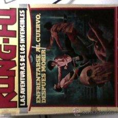 Tebeos: TEBEO COMIC KUNG FU LAS AVENTURAS DE LOS INVENCIBLES Nº1 PRIMERA EDICION 1976. Lote 29938390