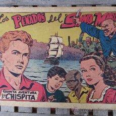 Tebeos: QUINTA AVENTURA DE CHISPITA ,1954 NUMERO 1 LOS PENADOS DE SANTA MARIA , POR AMBROS , GRAFIDEA. Lote 29934041