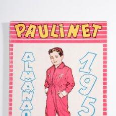 Tebeos: ALMANAQUE PAULINET Nº 1, PUBLICACIÓN INFANTIL, AÑO 1951. Lote 30509312