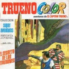 Tebeos: TRUENO COLOR - Nº 85 - AÑO III - SUPERAVENTURAS Nº 1.293 - EDITORIAL BRUGUERA - AÑO 1971.. Lote 30890892
