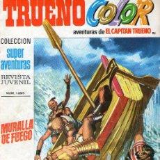 Tebeos: TRUENO COLOR Nº 86 - AÑO III - SUPERAVENTURAS Nº 1.295 - EDITORIAL BRUGUERA - AÑO 1971.. Lote 30890957