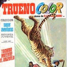 Tebeos: TRUENO COLOR - Nº 89 - AÑO III - SUPERAVENTURAS Nº 1.297 - EDITORIAL BRUGUERA - AÑO 1971.. Lote 30891135