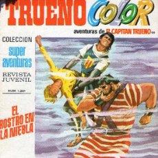 Tebeos: TRUENO COLOR - Nº 99 - AÑO III - SUPERAVENTURAS Nº 1.321 - EDITORIAL BRUGUERA - AÑO 1971.. Lote 30891218