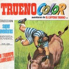 Tebeos: TRUENO COLOR Nº 120 - AÑO III - SUPERAVENTURAS Nº 1.363 - EDITORIAL BRUGUERA - AÑO 1971.. Lote 30891423