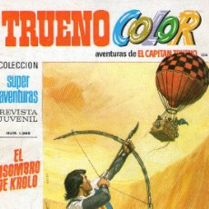 Tebeos: TRUENO COLOR Nº 136 - AÑO III - SUPERAVENTURAS Nº 1.395 - EDITORIAL BRUGUERA - AÑO 1972.. Lote 30891454