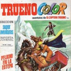 Tebeos: TRUENO COLOR Nº 166 - AÑO V - SUPERAVENTURAS Nº 1.455 - EDITORIAL BRUGUERA - AÑO 1972.. Lote 30903374