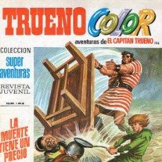 Tebeos: TRUENO COLOR Nº 195 - AÑO VI - SUPERAVENTURAS Nº 1.513 - EDITORIAL BRUGUERA - AÑO 1973.. Lote 30903730