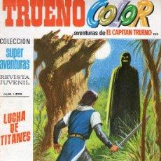 Tebeos: TRUENO COLOR Nº 203 - AÑO VI - SUPERAVENTURAS Nº 1.529 - EDITORIAL BRUGUERA - AÑO 1973.. Lote 30903880