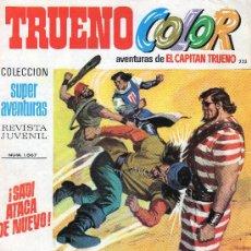Tebeos: TRUENO COLOR Nº 222 - AÑO VI - SUPERAVENTURAS Nº 1.567 - EDITORIAL BRUGUERA - AÑO 1973.. Lote 30904029