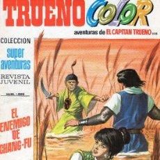 Tebeos: TRUENO COLOR Nº 233 - AÑO VI - SUPERAVENTURAS Nº 1.589 - EDITORIAL BRUGUERA - AÑO 1973.. Lote 30904160