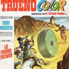 Tebeos: TRUENO COLOR Nº 235 - AÑO VI - SUPERAVENTURAS Nº 1.593 - EDITORIAL BRUGUERA - AÑO 1973.. Lote 30904246