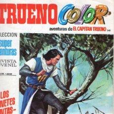 Tebeos: TRUENO COLOR Nº 241 - AÑO VII - SUPERAVENTURAS Nº 1.605 - EDITORIAL BRUGUERA - AÑO 1974.. Lote 30904317