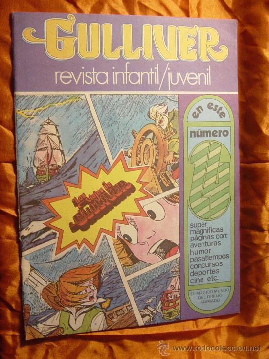 GULLIVER Nº 1. REVISTA INFANTIL JUVENIL. EDICIONES ALONSO. 1984 EL DESVAN DE JOSE RAMON * (Tebeos y Cómics - Números 1)