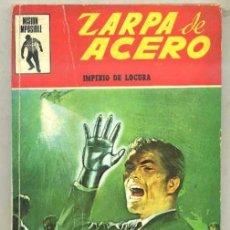 Tebeos: ZARPA DE ACERO Nº 1 - IMPERIO DE LOCURA (EUREDIT, 1970) . Lote 31202536