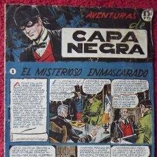 Tebeos: CAPA NEGRA, Nº 1, RICART. Lote 32196963