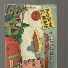 Tebeos: FREDY BARTON EL AUDAZ Nº 1. Lote 32207059