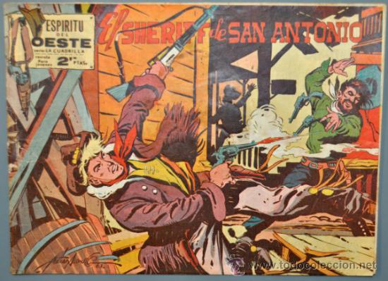 ESPIRITU DEL OESTE, EL SHERIFF DE SAN FRANCISCO Nº 1. EDITORIAL MAGA. (Tebeos y Cómics - Números 1)