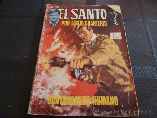 COMIC-EL SANTO Nº 1. (Tebeos y Cómics - Números 1)