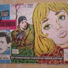 Tebeos: COLECCION CLARO DE LUNA , NUMERO 1, DOMENICO MODUGNO 1958. Lote 33999265