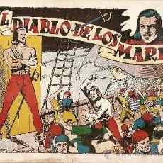 Tebeos: EL DIABLO DE LOS MARES ALBUM TOMO Nº 1. Lote 34349009