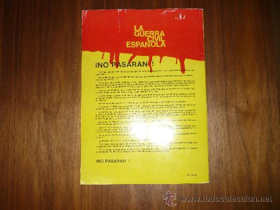Tebeos: EL COMIC DE LA GUERRA CIVIL ESPAÑOLA, AQUEL CALUROSO VERANO DEL 36, 1979, ED. PLAN, Nº 1 - Foto 4 - 34521876